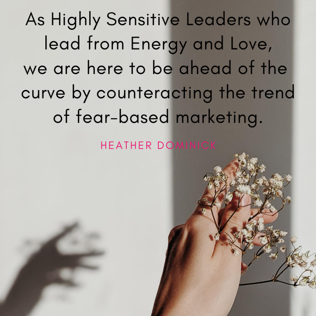 Highly Sensitive Leaders Quote