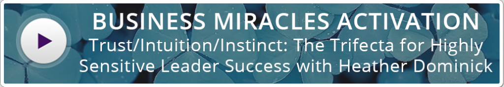 Highly Sensitive Leader Success Activation Button